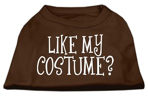 Like my costume? Screen Print Shirt Brown XXL (18)