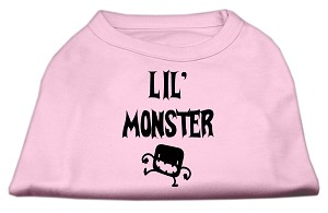 Lil Monster Screen Print Shirts Pink XL (16)
