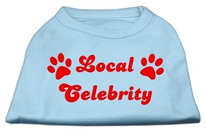 Local Celebrity Screen Print Shirts Baby Blue XL (16)