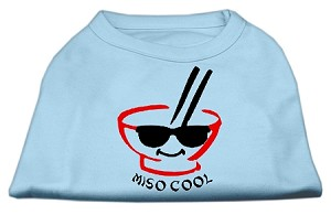 Miso Cool Screen Print Shirts Baby Blue XXL (18)