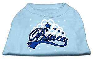 I'm a Prince Screen Print Shirts Baby Blue XL (16)