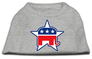 Republican Screen Print Shirts Grey L (14)