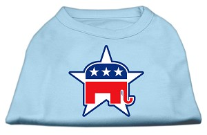 Republican Screen Print Shirts Baby Blue XXL (18)