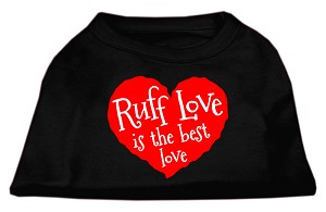 Ruff Love Screen Print Shirt Black XL (16)
