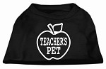 Teachers Pet Screen Print Shirt Black XS (8)