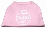 Teachers Pet Screen Print Shirt Light Pink XS (8)