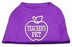 Teachers Pet Screen Print Shirt Purple XS (8)