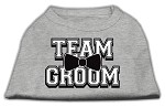 Team Groom Screen Print Shirt Grey XS (8)