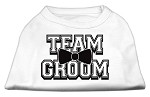 Team Groom Screen Print Shirt White XS (8)