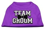 Team Groom Screen Print Shirt Purple XS (8)