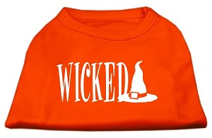 Wicked Screen Print Shirt Orange Sm (10)