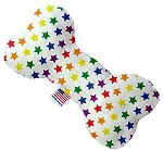 Rainbow Stars 8 inch Stuffing Free Bone Dog Toy