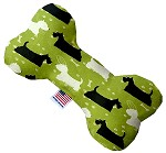 Scottie and Westie 6 inch Bone Dog Toy
