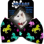 Confetti Unicorns Pet Bow Tie