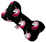Pretty Pink Unicorns 6 inch Bone Dog Toy