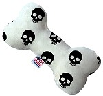 Skulls 10 inch Stuffing Free Bone Dog Toy