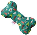 Forest Follies 8 inch Stuffing Free Bone Dog Toy