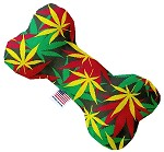 Rasta Mary Jane 6 inch Stuffing Free Bone Dog Toy