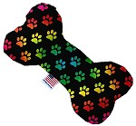 Rainbow Paws 8 inch Stuffing Free Bone Dog Toy