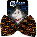 Hedgehogs Pet Bow Tie Collar Accessory with Velcro