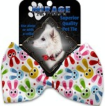 Funny Bunnies Pet Bow Tie Collar Accessory with Velcro