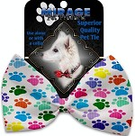 Confetti Paws Pet Bow Tie Collar Accessory with Velcro