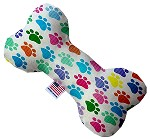 Confetti Paws 6 inch Stuffing Free Bone Dog Toy