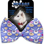 Chicks and Bunnies Pet Bow Tie Collar Accessory with Velcro