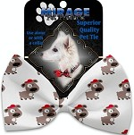 Fresh Pup Pet Bow Tie Collar Accessory with Velcro