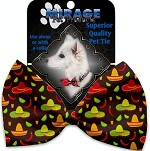 Sombreros Pet Bow Tie Collar Accessory with Velcro