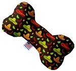 Sombreros 8 inch Stuffing Free Bone Dog Toy