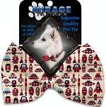 Rocket Man Pet Bow Tie Collar Accessory with Velcro