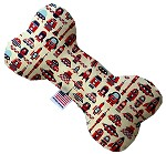 Rocket Man 10 inch Stuffing Free Bone Dog Toy