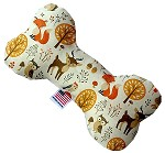 Fox and Friends 8 inch Stuffing Free Bone Dog Toy