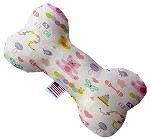 Baby Girl 8 inch Stuffing Free Bone Dog Toy