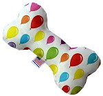 Balloons 6 inch Bone Dog Toy