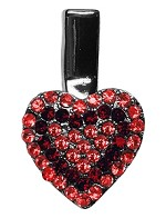 Heart Clip Red