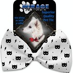 Super Hero Masks Pet Bow Tie Collar Accessory with Velcro