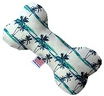 Palm Tree Paradise 10 inch Stuffing Free Bone Dog Toy