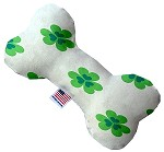 Lucky Charms 6 inch Canvas Bone Dog Toy