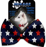 Graffiti Stars Pet Bow Tie
