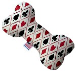 Deck of Cards 6 inch Stuffing Free Bone Dog Toy