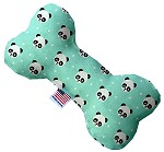 Happy Pandas 8 inch Stuffing Free Bone Dog Toy
