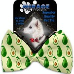 Avocado Paradise Pet Bow Tie Collar Accessory with Velcro