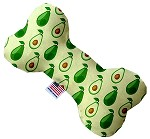 Avocado Paradise 8 inch Stuffing Free Bone Dog Toy