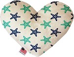 Starfish 6 inch Stuffing Free Heart Dog Toy