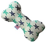 Starfish 6 inch Stuffing Free Bone Dog Toy