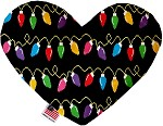 Digital Christmas Lights 6 Inch Heart Dog Toy