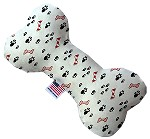 Sweet Paws 8 inch Stuffing Free Bone Dog Toy