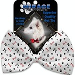 Sweet Paws Pet Bow Tie Collar Accessory with Velcro